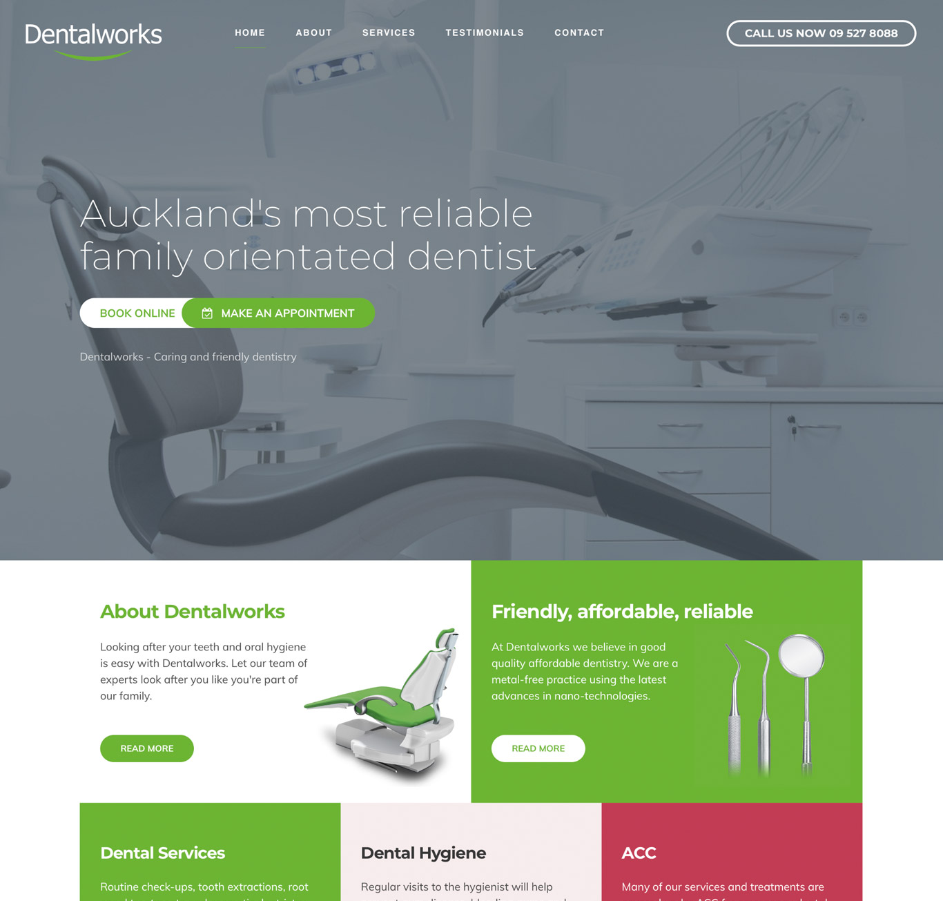 Dentalworks on desktop