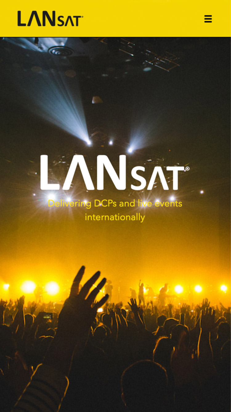 LANsat on mobile